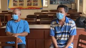 Quảng Ngãi: Cứu 2 ngư dân bị chìm tàu tại cảng biển Dung Quất