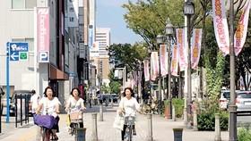Đi xe đạp ở Nhật Bản