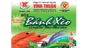 Bột Vĩnh Thuận: Hương vị tuyệt vời