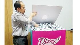 3 khách hàng may mắn của Diana