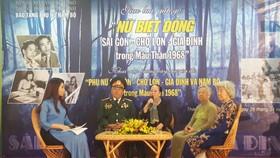 Giao lưu, gặp gỡ nữ biệt động Sài Gòn - Chợ Lớn - Gia Định
