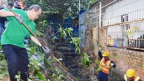 TPHCM phát động toàn dân không xả rác ra đường và kênh rạch