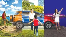 Ford Ecosport là chiếc SUV phù hợp cho mọi cung đường
