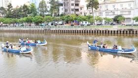 Kênh Nhiêu Lộc - Thị Nghè. Ảnh: CAO THĂNG