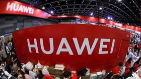 Gian hàng của Huawei tại Mobile Expo ở Bangkok, Thái Lan, ngày 31-5-2019. Ảnh: REUTERS