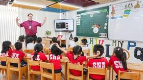 Hệ thống giáo dục NHG đáp ứng đầy đủ các tiêu chí để gia nhập các tổ chức giáo dục uy tín trên thế giới. Hình ảnh: Một lớp học theo chương trình IB tại Trường Quốc tế Bắc Mỹ (SNA) – thành viên NHG