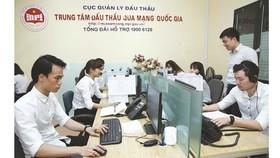 Hơn 30.000 gói thầu thực hiện trên hệ thống mạng đấu thầu quốc gia