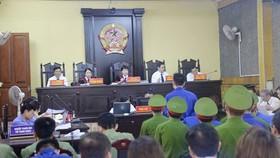 Phiên tòa xét xử vụ án ngày 21-5-2019. Ảnh: VOV