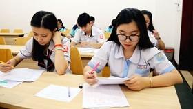 Thí sinh tham dự kỳ thi đánh giá năng lực của ĐH Quốc gia TPHCM năm 2018