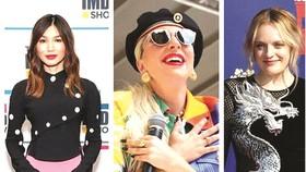 Gemma Chan, Lady Gaga và Elisabeth Moss (từ trái qua)  được mời trở thành thành viên AMPAS