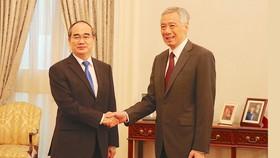 Thủ tướng Lý Hiển Long: Singapore luôn đánh giá cao mối quan hệ với Việt Nam, trong đó có TPHCM