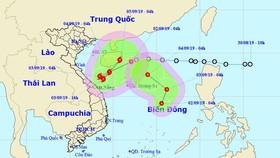 Cùng lúc xuất hiện 2 áp thấp nhiệt đới ở biển Đông, có thể mạnh lên thành bão