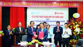 Hòa Bình và Rạng Đông ký kết hợp tác chiến lược