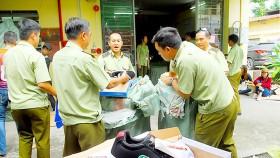 Lô hàng giả mạo, hàng nhái thương hiệu bị Quản lý Thị trường TPHCM phát hiện, tạm giữ trong năm 2018