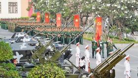 Lễ ra quân huấn luyện 2019, do Bộ Tư lệnh TPHCM tổ chức tháng 3-2019. Ảnh minh họa: VIỆT DŨNG