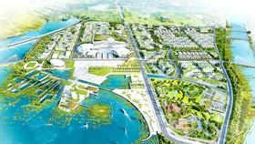 Phối cảnh dự án TTHC mới của tỉnh Khánh Hòa