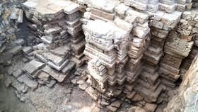 Phát hiện dấu tích đền tháp cổ hơn 1.000 năm