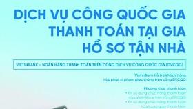 VietinBank cung cấp Giải pháp thanh toán trên Cổng Dịch vụ công Quốc gia