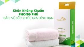 Phong Phú ra mắt sản phẩm khăn kháng khuẩn cao cấp