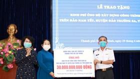 Góp sức xây bệnh xá đảo Nam Yết