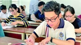 Thí sinh thi đánh giá năng lực tại ĐH Quốc gia TPHCM năm 2019