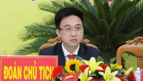 Đồng chí Đặng Minh Thông tái đắc cử Bí thư Thành ủy Bà Rịa. Ảnh: VOV