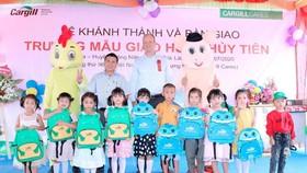 96 trường vùng nông thôn được Cargill VN xây dựng và bàn giao tại 50 tỉnh