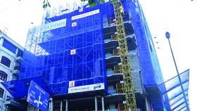 Tập đoàn Xây dựng Hòa Bình cất nóc vượt tiến độ công trình Tòa nhà Văn phòng Geleximco