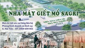 Nhà máy giết mổ gia súc Sagri công nghệ châu Âu tại TPHCM