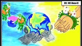"""Hệ thống Trường mầm non Thế giới trẻ thơ (Worldkids): Đấu giá tranh """"Chia sẻ yêu thương"""""""