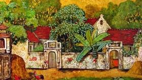 Nét đẹp truyền thống của tranh sơn mài. Ảnh: tuongbinhhiep.com