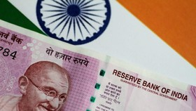 Đồng rupee của Ấn Độ. Ảnh minh họa: REUTERS