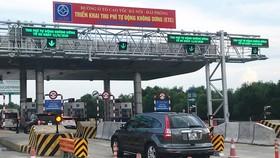 Thu phí tự động không dừng trên cao tốc Hà Nội - Hải Phòng