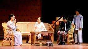 Sân khấu Trịnh Kim Chi tập vở mới dự Liên hoan Kịch nói toàn quốc