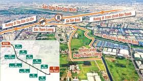 Tuyến metro số 2 Bến Thành - Tham Lương: Nỗ lực khởi công vào cuối năm