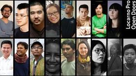 Những gương mặt sẽ xuất hiện tại chương trình Open Doors của Liên hoan phim Locarno. Ảnh: Liên hoan phim Locarno