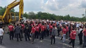 Nhân viên Alibaba cản trở đoàn cưỡng chế ngày 13-6-2019