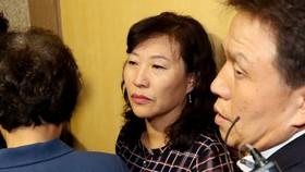 Bà Park Ky-young từ chức lãnh đạo Văn phòng Khoa học, Công nghệ và Sáng tạo vì liên quan vụ bê bối nghiên cứu tế bào gốc năm 2015. Ảnh: YONHAP