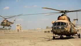 Trực thăng Mi-17 của quân đội Iraq trong một phiên huấn luyện. Ảnh: GLOBAL MILITARY REVIEW