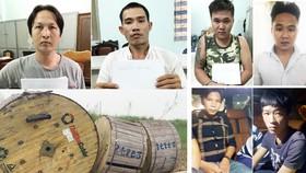 Băng nhóm cướp tài sản táo tợn tại khu dự án Star Village do Du và Hòa cầm đầu