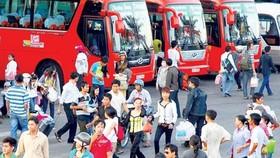 Đi lại dịp lễ: Hành khách đi đông nhưng chưa căng thẳng