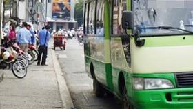 Yêu cầu di dời bến xe buýt tạm