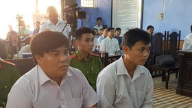 Phiên tòa xét xử 2 cựu Cục QLTT tỉnh Sóc Trăng ngày 9-7