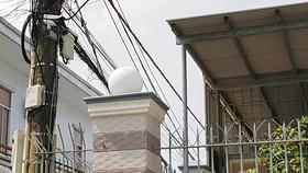 Hệ thống camera được lắp tại nhà riêng của thành viên Ban Thường vụ Tỉnh ủy Sóc Trăng