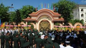 Khánh thành Khu nhà tưởng niệm Chủ tịch Hồ Chí Minh tại Quân khu 9