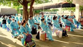 Cách ly tập trung 117 công dân từ Singapore về nước