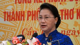 Chủ tịch Quốc hội Nguyễn Thị Kim Ngân dự kỷ niệm 75 năm ngày Tổng tuyển cử đầu tiên bầu Quốc hội