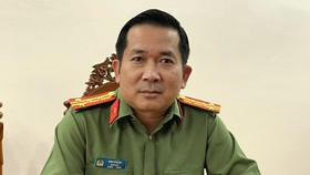 """Đại tá Đinh Văn Nơi: """"Không khoan nhượng các loại tội phạm"""""""