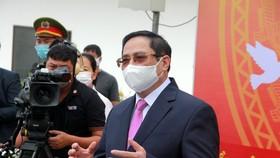 Thủ tướng Phạm Minh Chính dự lễ khai mạc bầu cử và bỏ phiếu tại TP Cần Thơ