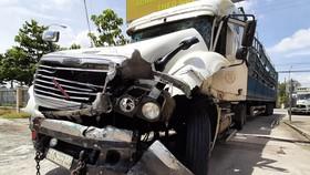 """Khởi tố tài xế """"xe điên"""" vượt chốt kiểm dịch trên Quốc lộ 1"""